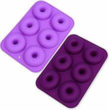26-cavity Silikon Donut Form Donut,