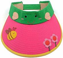 2-7 Jahre alt Kind Sommer- Baumwolle Leeren Hut Großer Hut Sonnenschutz Sonnenhut ( Farbe : 3 )