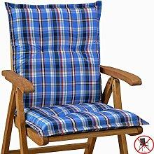 2 Auflagen fuer Niederlehner Sessel 103 x 52 x 8 cm Miami 10480-100 (ohne Stuhl)