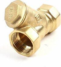 2cm Innendurchmesser Y Type Sanitär Messing Filter für, Wasser Rohr