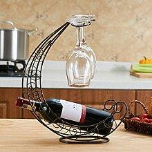 2 haken umkehren hängenden Weinglas