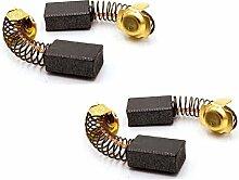 (2) Hitachi 999-038 Kohlebürsten 2ct für C12FSA,