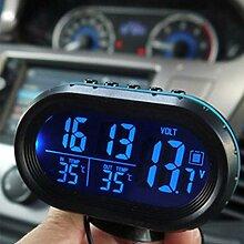 2 in 1 12 V / 24 V Digital Auto Auto Thermometer +