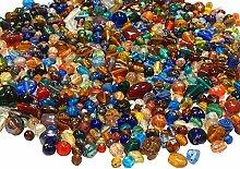 2 Kilo Glasperlen Mix Kit Glas Kinder Perlen zum