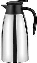 2 Liter Edelstahl Isolierkanne Kaffeekanne