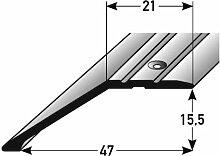 2 Meter Abschlussprofil / Abschlussleiste Laminat,