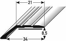 2 Meter Abschlussprofil/Abschlussleiste Laminat,