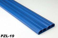 2 Meter PVC Zaunlatte Kunststoff Profil Zaunbrett