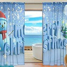 2PC jstel Frohe Weihnachten in Winter Schnee