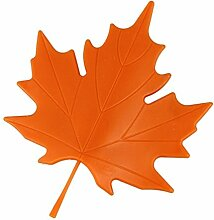 2PCS Ahorn Herbst Blatt Stil Finger Displayschutzfolie Sicherheit Türstopper, Stopper Tür... Orange