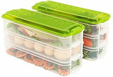 2 PCS Kitchen Pantry Kühlschrank Freezer Storage