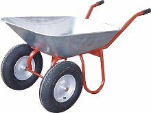 2-Rad-Gartenkarre (Verzinkte Mulde, mit