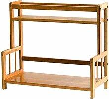 2-Regal-Regal Holz stehend Organisation Lagerregal