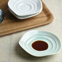 [2 sets] Miyama Minoyaki haas Small plate for Soy