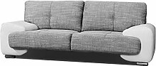 2-Sitzer Design Sofa 2er Büro Kunstleder