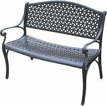 2-Sitzer Gartenbank Florenz aus Metall Garten