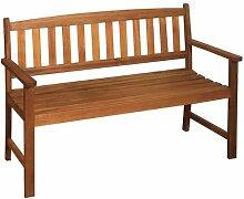 2-Sitzer Gartenbank Holz Bank Trop. Hartholz Nr.