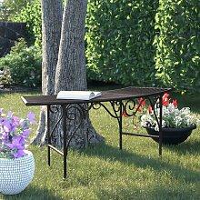 2-Sitzer Gartenbank Majestic aus Metall Garten