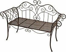 2-Sitzer Gartenbank McNab aus Metall Garten Living