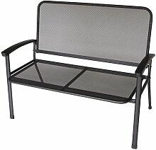 2-Sitzer Gartenbank Phlox aus Metall Garten Living