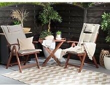 2-Sitzer Loungemöbel-Set Ludvig