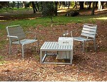 2-Sitzer Loungemöbel-Set Marcelle