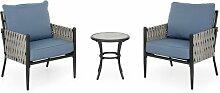 2-Sitzer Loungemöbel-Set Nenuphar Garten Living