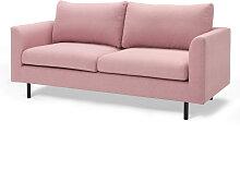 2-Sitzer Sofa Assisi, rosa