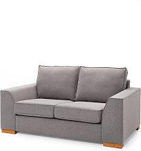 2-Sitzer Sofa Butterfly, grau