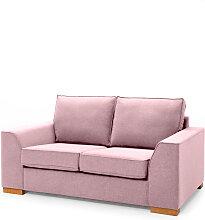 2-Sitzer Sofa Butterfly, rosa