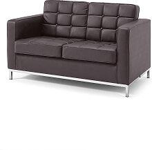 2-Sitzer Sofa Eagle, braun