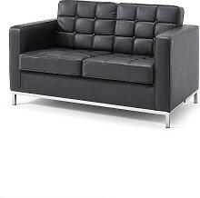 2-Sitzer Sofa Eagle, schwarz