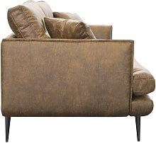 2-Sitzer-Sofa GANESH - Microfaser -