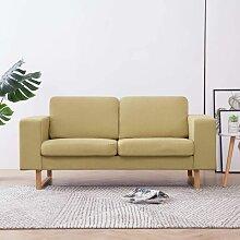2-Sitzer-Sofa Stoff Grün1856-A