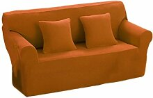 2-Sitzer Stretch Sofabezüge Sofahusse Couch Sofa