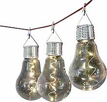 2 Solar Hängeleuchte Glühbirne 15680