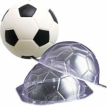 2 Stück 3D Fußball DIY 3D Plastik Backform