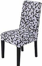 2 Stück Blumen Druck Stuhl Sets Stylish Elastic Stuhl Schonbezüge