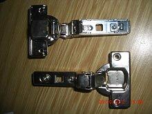 2 Stück Federscharniere, Clip, 110°, 15mm,