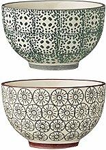 2Stück Keramik Schüssel-Se