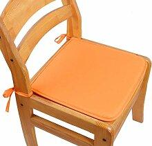 2 Stück Kissen Stuhl Sitzpolster mit Krawatten