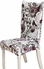 2 Stück Landhausstil Stuhl Schonbezüge Esszimmer Stuhl Schonbezüge