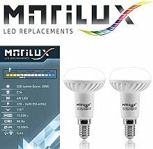 2 Stück Marilux® 4W LED-Strahler E14 Spot Lampe