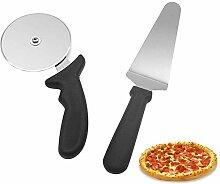 2 Stück Metall Pizza Peel