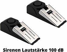 2 Stück OLYMPIA T 300 Alarmkeil für Türen --