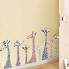 2 Stück/Set DIY Kreative Cartoon Giraffe