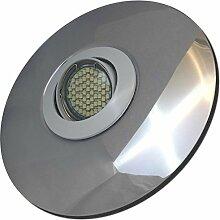 2 Stück SMD LED Einbaustrahler Big Fabian 12 Volt