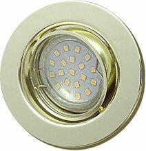 2 Stück SMD LED Einbaustrahler Elena 12 Volt 3