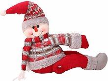 2 Stück Weihnachten Vorhang Schnalle