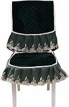 2 Stücke elegante stuhlhussen und Cushion, grün